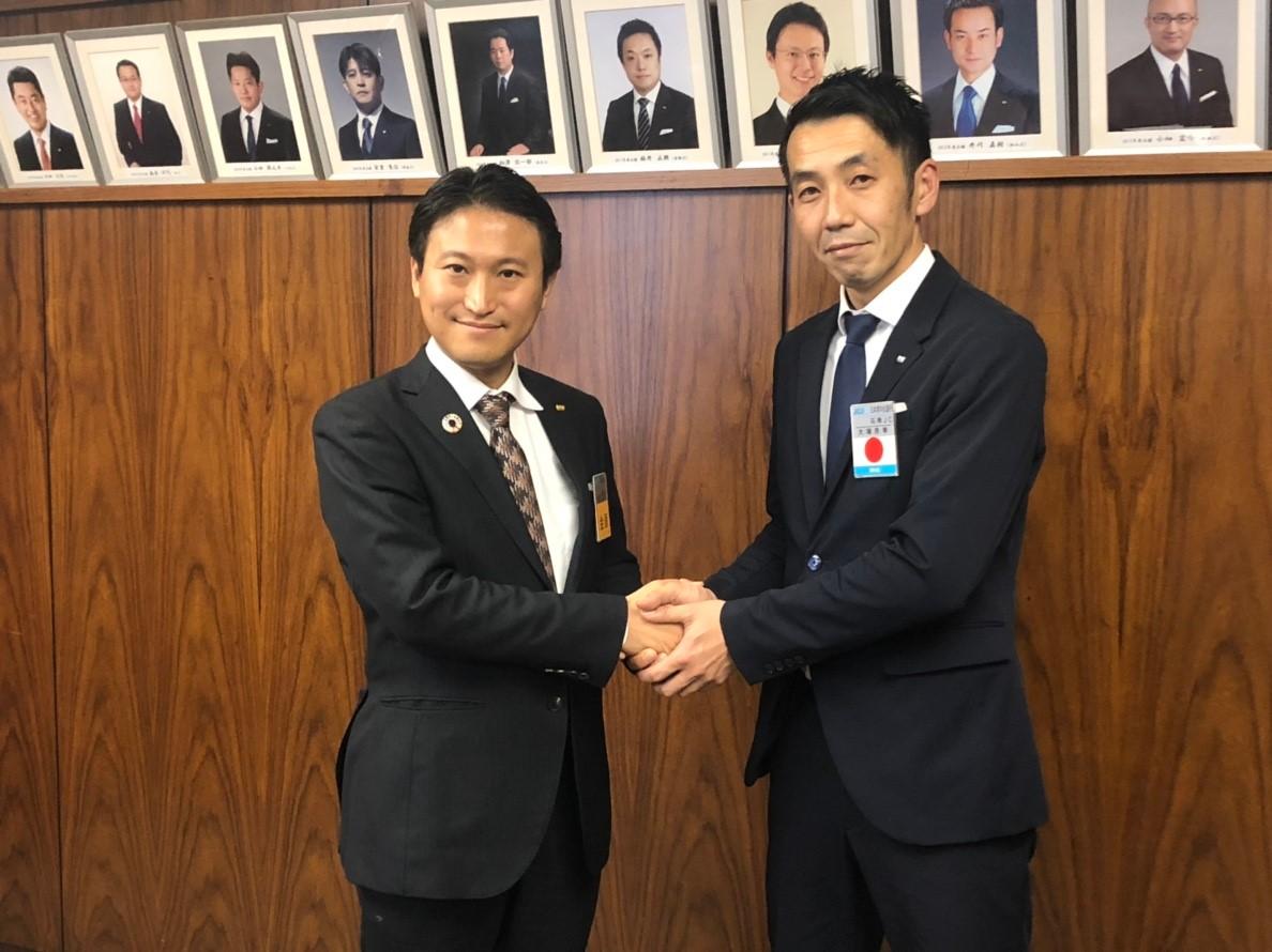 特別対談第一弾 鎌田会頭×大塚理事長のイメージ