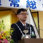 40代理事長 若山 民雄